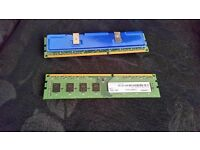 2x 4 gig off ddr3 memory 8 gig in total