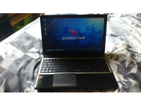 "Packard Bell quad core 15.6"" laptop. 320gb, 4gb. VGC."