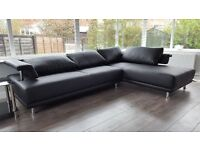 Delivery 1-3 days BRAND NEW ROMA LEATHER CORNER SOFA CORNER We Can Delivered