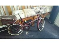 Fiesta folding original retro bike