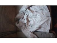 Womans ware house leather jacket excellent condition size 14 pick up only
