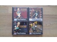 Tomb Raider - PlayStation 1 (PS1) Collection