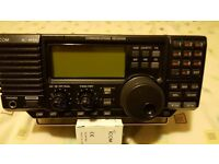 Icom r75 receiver. all band to 60 mhz.