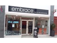 Hairdresser needed for busy city centre salon in coventry.Experienced and enthusiastic essential.