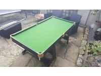 Great condition snooker/pool table