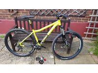 Voodoo Bizango 29er mountain bike (18 inch frame)