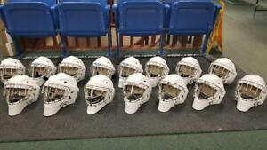 Sportmask Hockey Goalie Helmets All sizes Canadian Made
