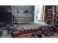 garage equipment , compressors welders power tools hand tools everything from car repair garage
