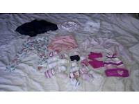 Baby girls clothes bundle 6-12 months