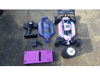 nitro rc car kyosho inferno mp777 ready to run