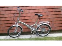 Folding Bicycle, excellent condition! + extras