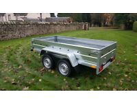 New Trailer 8.7 x 4.2 twin axle £970 INC VAT