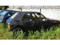 Peugeot 205 cabriolet barn find