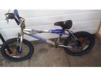 """Boys blue bike 18"""""""