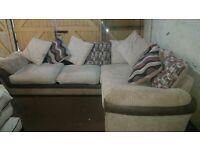 Scs jumbo cord corner sofa excellent condition