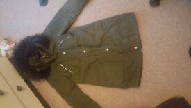 Size 10 new look coat