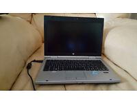 hp elitebook 2560p laptop running windows 10 pro intel i5
