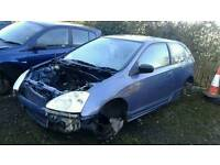 Honda civic sport for breaking parts