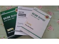 GCSE Biology AQA Workbook, Answer book and Revision Guide