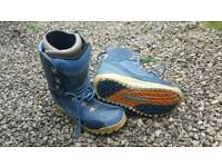 Burton snowboard boots size 11 to 12