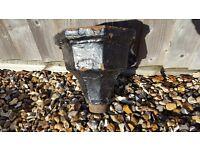 Victorian Cast Iron Water Hopper/Rain Hopper/Wall Planter