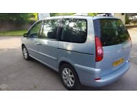Peugeot 807 2.0 HDi Executive Diesel 1997 cc MPV Silver Auto only 68000 mil no smoking