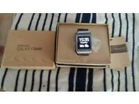 Samsung gear smartwatch in box