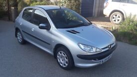 Peugeot 206, 1.4L HDI, Diesel, 2004 *£30 Road Tax*