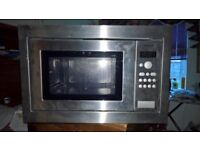H56G20NOGB Built In Microwave & Grill Stainless Steel