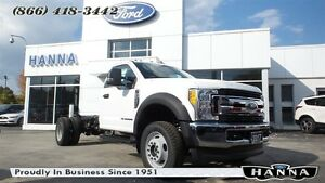 2017 Ford F-550 CHASSIS CAB *NEW* REGULARCAB CHASSISCAB XLT 4X4