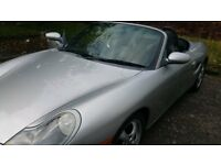 porsche boxster convertible c/w with removale hard top