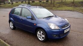FORD FIESTA 1.2 ZETEC CLIMATE 2007 5 DR ONLY 46K MILES