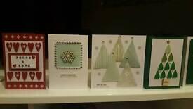 Handmade homemade Christmas Cards
