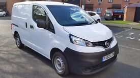 2013 NISSAN NV200SE DCI-NEW MOT,LOW MILEAGE, EURO 5,5 SEATS,EXCELLENT CONDITION