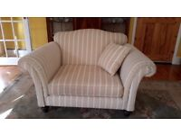 Elegant Cuddler Chair / Armchair/ Sofa in immaculate condition