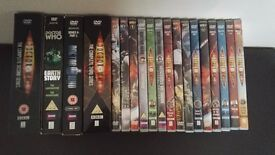 Dr Who DVD collection