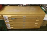 Beech Plan Chest (6 drawers)