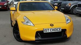 NISSAN 370Z V6 GT REAL EYEFULL LOW MILEAGE RARE YELLOW (yellow) 2009