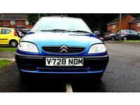 saxo,1124cc vgc very low mileage great runner brilliant for first time drivers.
