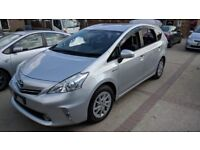 Toyota Prius + (Prius Plus) PCO Car Hire Uber Ready Rental for Taxi Mini Cab Rent for £150 a week