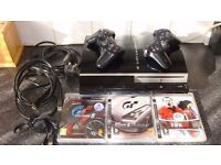 PS3 PlayStation 3 console with 3 games and controller