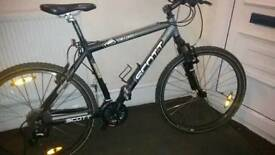 "** SCOTT YECORA mountain bike ° 24GEARS ° LIGHTWEIGHT FRAME-18"" ° SHOWROOM Condition"
