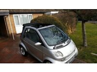 2004 smart city fortwo convertible