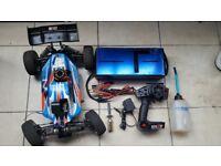 Nitro rc car losi 8ight fully runing 4WD ready to run