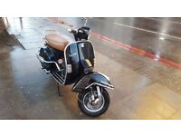 Vespa PX 125 black - nice condition - in London !!