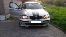 BMW 118D 1 Series Sport 5d Full Leather Detachable Tow Bar Motorway Miles