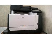 Laser Jet Pro color printer and scanner included a new INK cartige