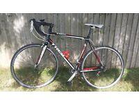 Trek Alpha 1.2 Road Bike, 58cm frame, black red & white, excellent condition