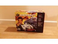 Boxed Nintendo N64 console James Bond 007 TESTED retro gaming