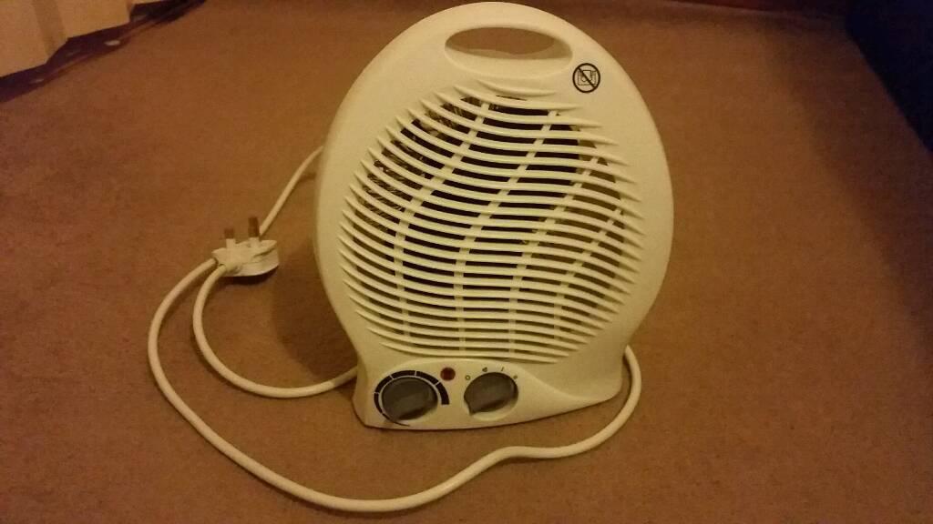 Fan heater with termostat